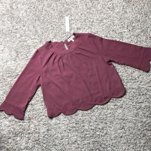 NWT mauve blouse